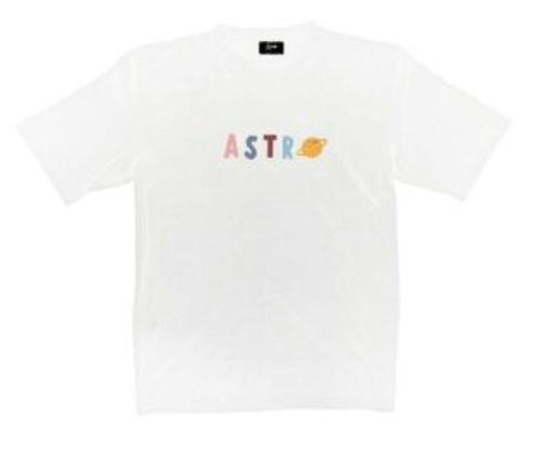 《書留送料込》新作 Astro Tシャツ ホワイト Sサイズ(Brightプライベートブランド)