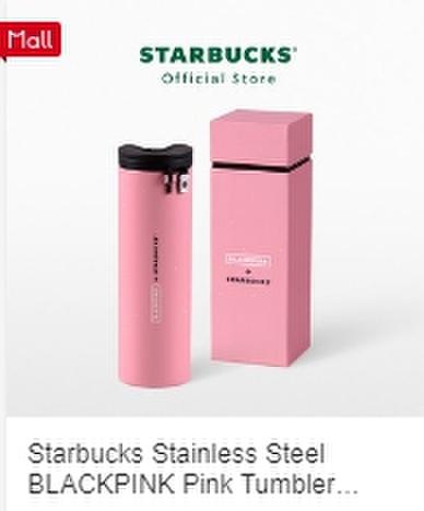 Starbucks BLACKPINK タンブラー ピンク《eパケット込み》