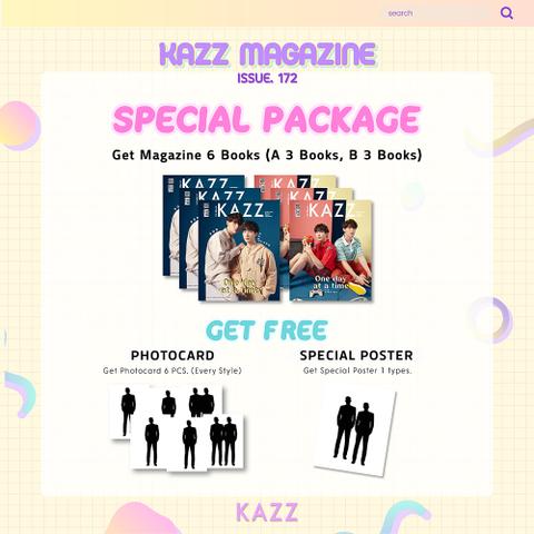 《EMS送料込み》KAZZ 172号  スペシャルパッケージ POD-KHAOTUNG