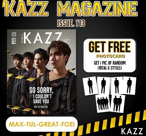 タイ雑誌  KAZZ 173 Manner Of Death MAX TUL GREAT FOEI《eパケット送料込》
