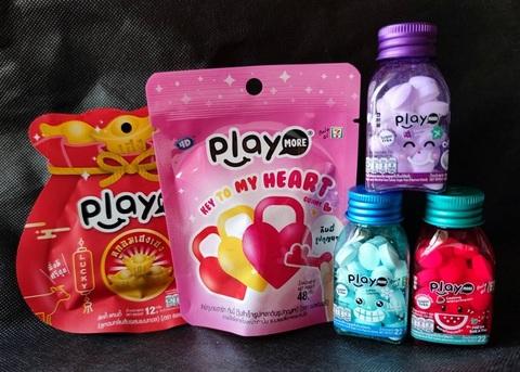 季節限定 Playmore グミ+キャンディ (5種セット)eパケット送料込み