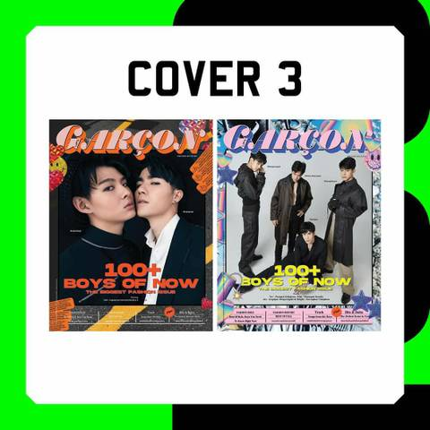 《書留送料込》Lips Garcon : Cover3 ZaintSee & ONE31 Channel