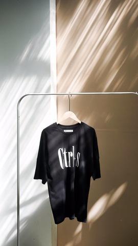 《書留付き送料込み》Ctrl+s Tシャツ ブラック(フリーサイズ)