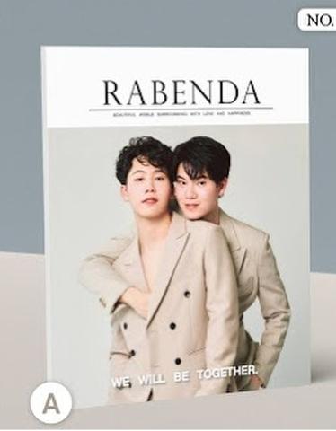 RABENDA MAGAZINE no.6 (Yin-War) 表紙A《eパケット込み》
