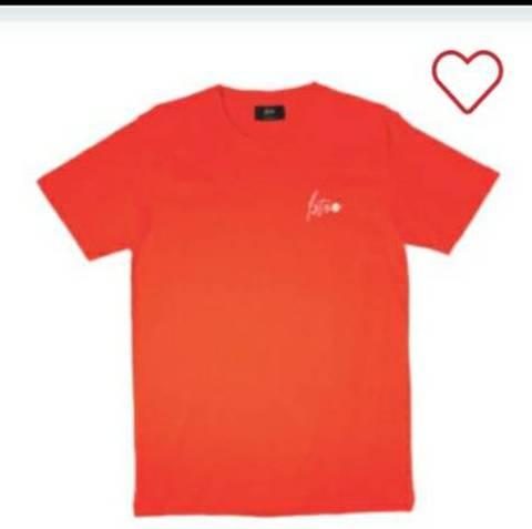 《書留送料込》新作 Astro Tシャツ コーラルレッド (Brightプライベートブランド)