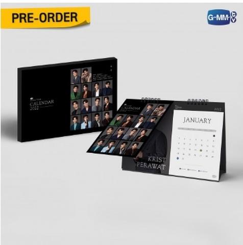GMMTV SIGNATURE CALENDAR 2022 カレンダー《eパケット代込み》