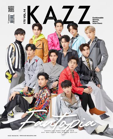 《書留送料込》タイ雑誌 KAZZ Fantopia
