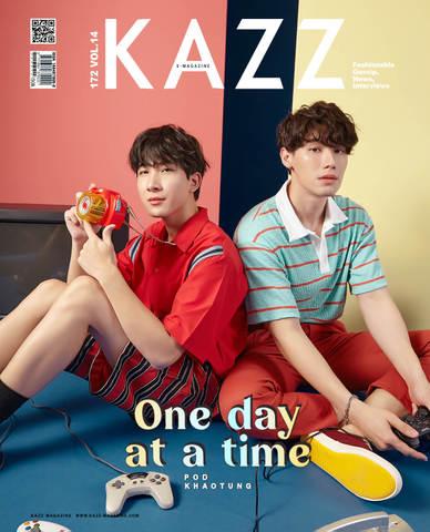 《書留送料込》タイ雑誌 KAZZ 172号 POD KHAOTUNG B