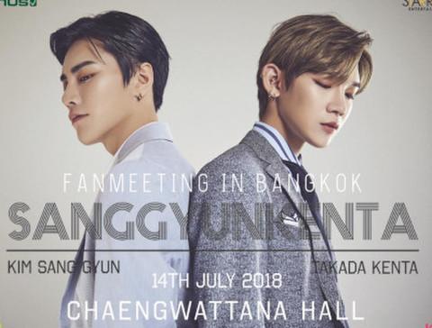 【A1/A2】SANGGYUN KENTA タイ・バンコク公演