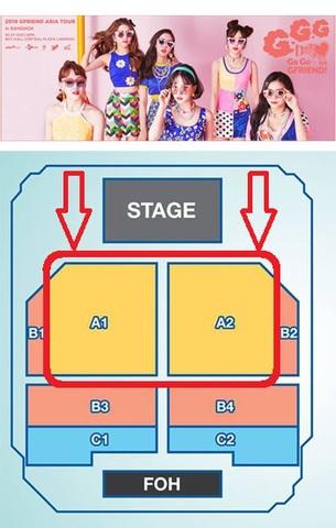 【最高額A1/A2】GFRIEND  タイバンコク公演
