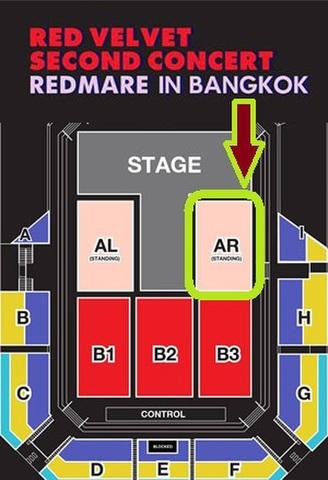 【アリーナスタンディング AR】Red Velvet タイバンコク公演