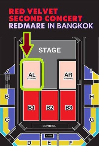 【アリーナスタンディング AL】Red Velvet タイバンコク公演