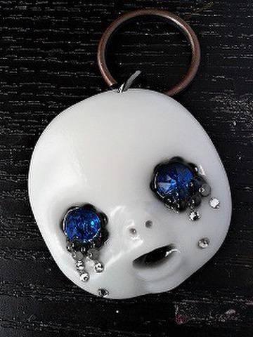 TEARS(カプリブルー眼)mini KEYRING