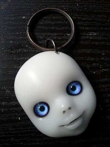 SIN (白顔紫青眼)キーリング