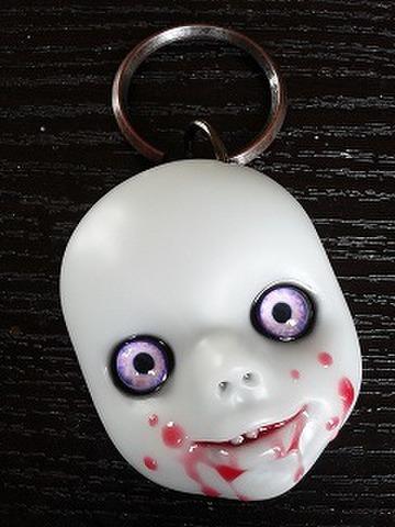 SIN 血の唇(紫ピンク眼)