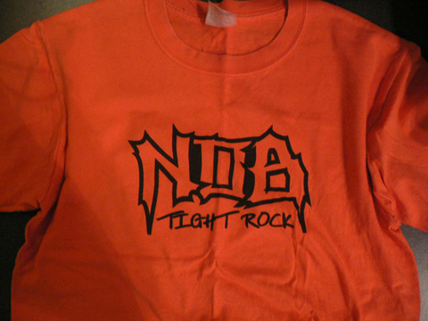 NOB TIGHT T-SHIRTSオレンジ