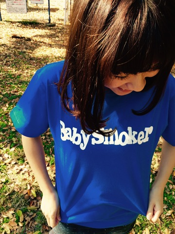 Baby smoker TIGHT T-SHIRTS