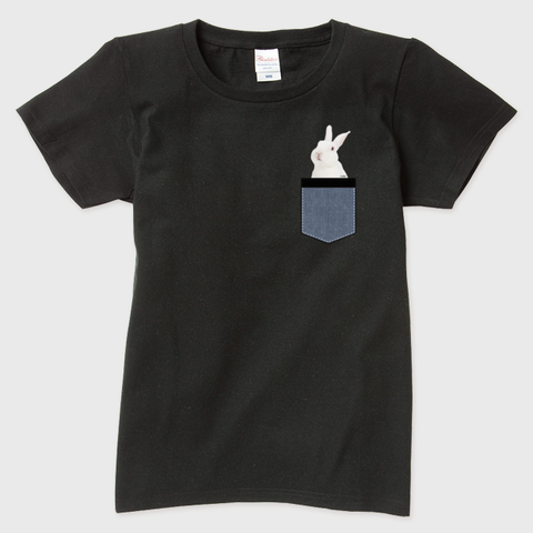 うさポケin弥兎 半袖Tシャツ