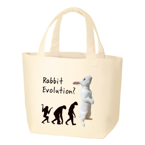 Rabbit Evolution ミニトートバッグ