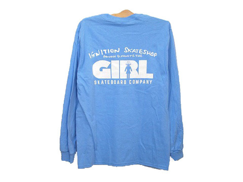IGNITION SKATESHOP GIRL SUPPORT L/S TEE