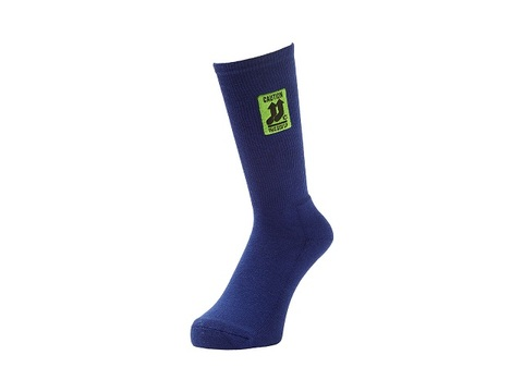Whimsy THIS SIDE UP SOCKS NAVY