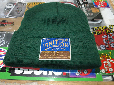 IGNITION SKATESHOP IGNITION BEANIES
