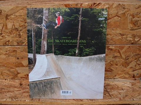 THE SKATEBOARD MAG  ISSUE #145