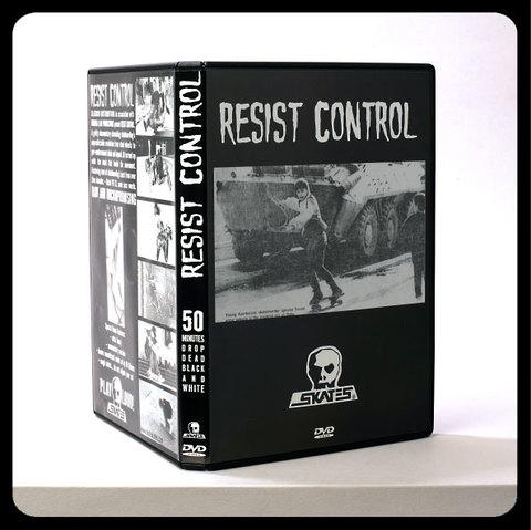 SKULL SKATES `RESIST CONTROL`DVD
