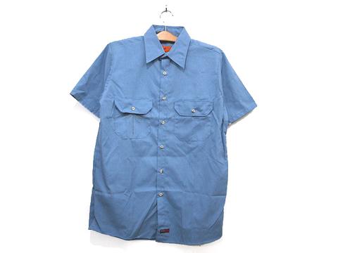 不良品ワークシャツ ライトブルー