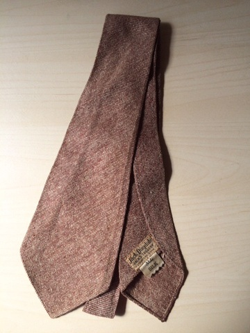 Vintage 1930's 1940's Unlined NECKTIES Tie 4
