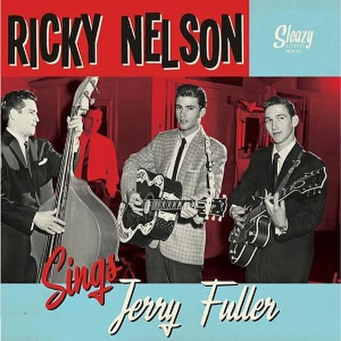 """RICKY NELSON/Sings Jerry Fuller(10"""")"""