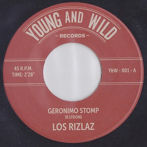 """LOS RIZLAZ/Geronimo Stomp(7"""")"""