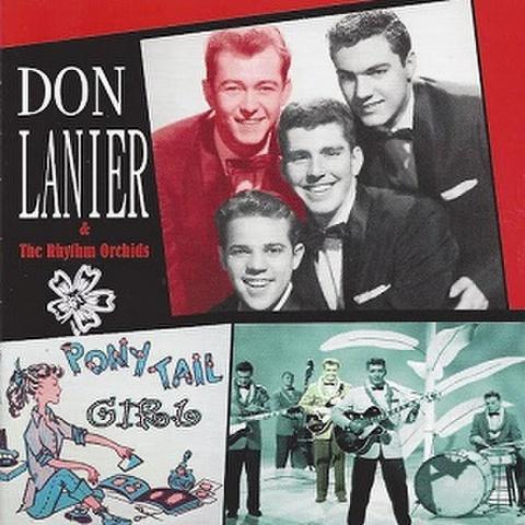 DON LANIER & HIS RHYTHM ORCHIDS/Pony Tail Girl(CD)