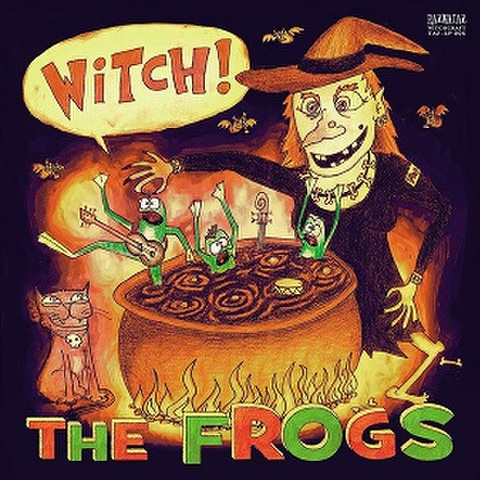 THE FROGS/Witch(LP)