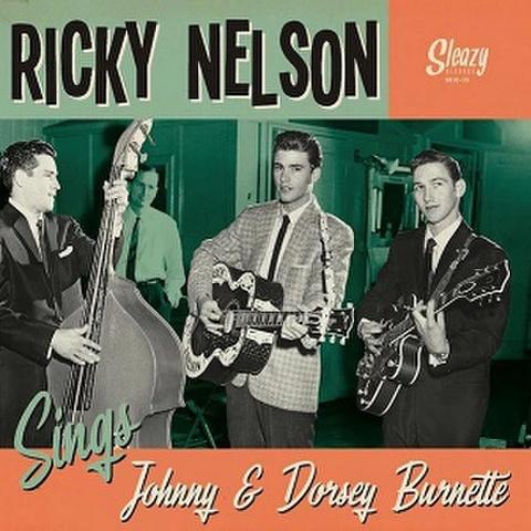 """RICKY NELSON/Sings Johnny & Dorsey Burnette(10"""")"""