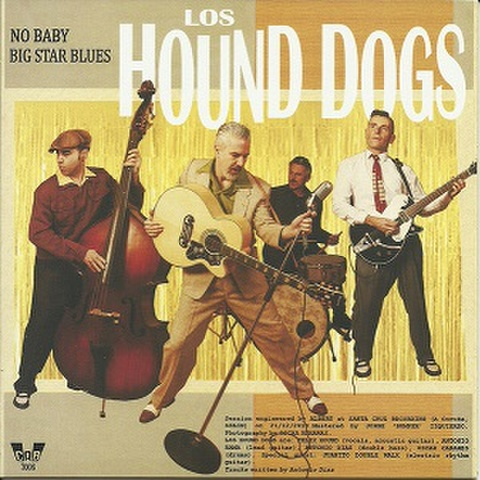 """LOS HOUND DOGS + UNCLE CHARLIE COMBO(7"""")"""