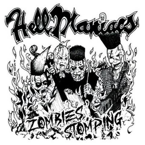HELLMANIACS/Zombies Stomping(LP*Alt Sleeve)