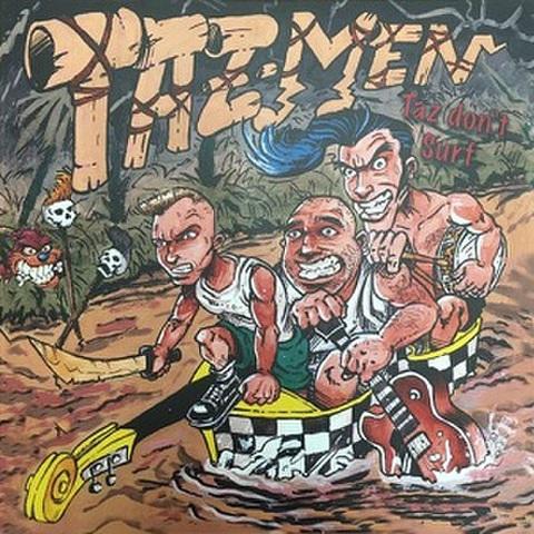 TAZMEN/Taz Don't Surf(LP)
