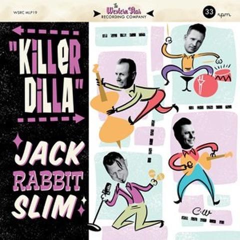 """JACK RABBIT SLIM/Killer Dilla(10"""")"""