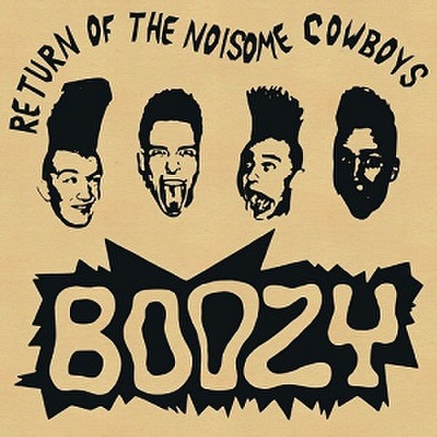 BOOZY/Return Of The Noisome Cowboys(LP*Alt Sleeve)