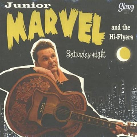 "JUNIOR MARVEL & THE HI-FLYERS/Saturday Night(10"")"