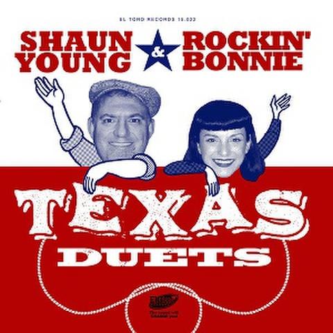 """SHAUN YOUNG & ROCKIN' BONNIE/Texas Duets(7"""")"""