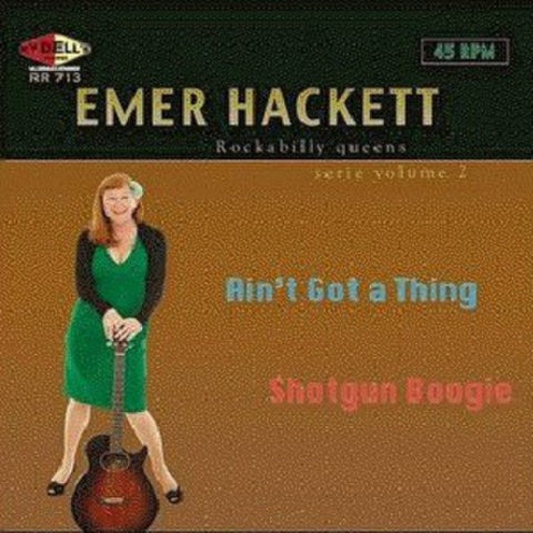 "EMER HACKET/Rockabilly Queen Serie Vol.2(7"")"