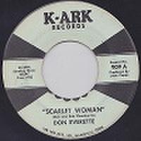 "DON EVERETTE/Scarlet Woman(中古7"")"