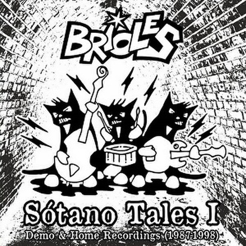 BRIOLES/Sotano Tales(LP)