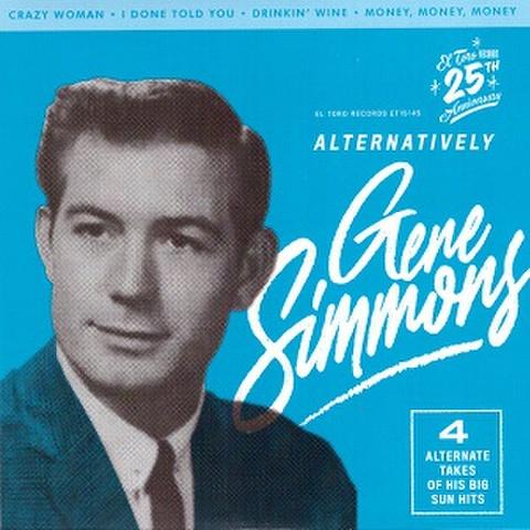 """GENE SIMMONS/Alternatively(7"""")"""