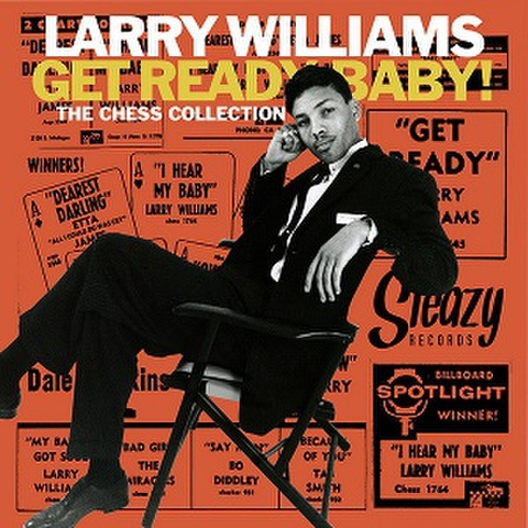 """LARRY WILLIAMS/Get Ready Baby(10"""")"""