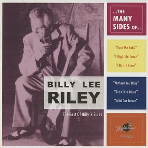 BILLY LEE RILEY/The Many Sides Of(CD)