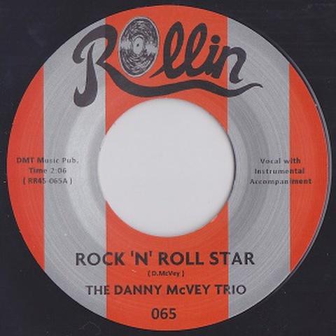 """DANNY McVEY TRIO/Rock'n' Roll Star(7"""")"""