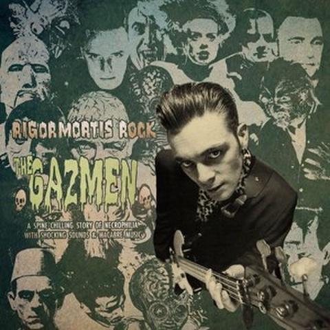 "THE GAZMEN/Rigomortis Rock(10"")"